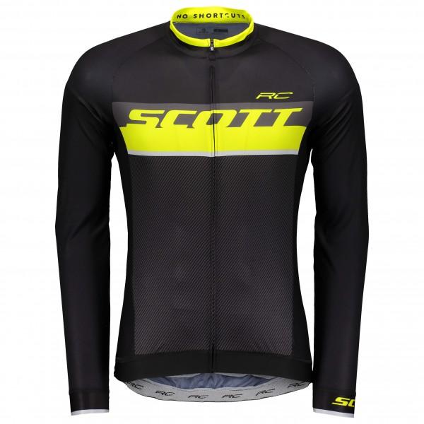 Scott - Shirt RC Pro L/S - Radtrikot Gr S schwarz
