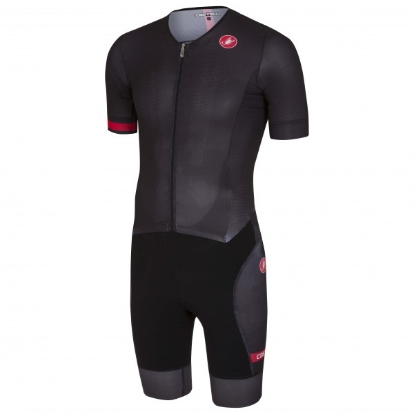Castelli - Free Sanremo Suit S/S - Radtrikot Gr XL schwarz Preisvergleich