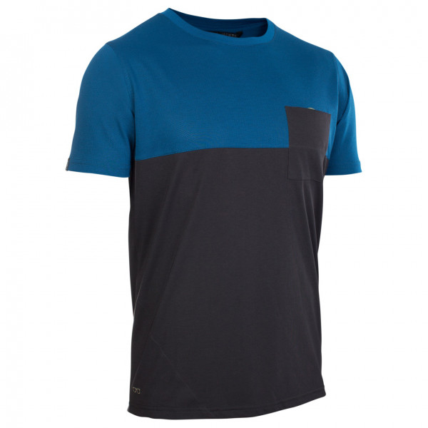 Ion - Tee S/s Seek Amp - Cycling Jersey Size 48  Black/blue