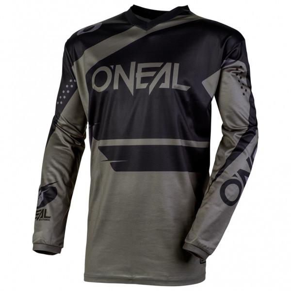 #O'Neal – Element Jersey Racewear – Radtrikot Gr M;S;XL;XXL rot/schwarz;schwarz/grau/oliv#