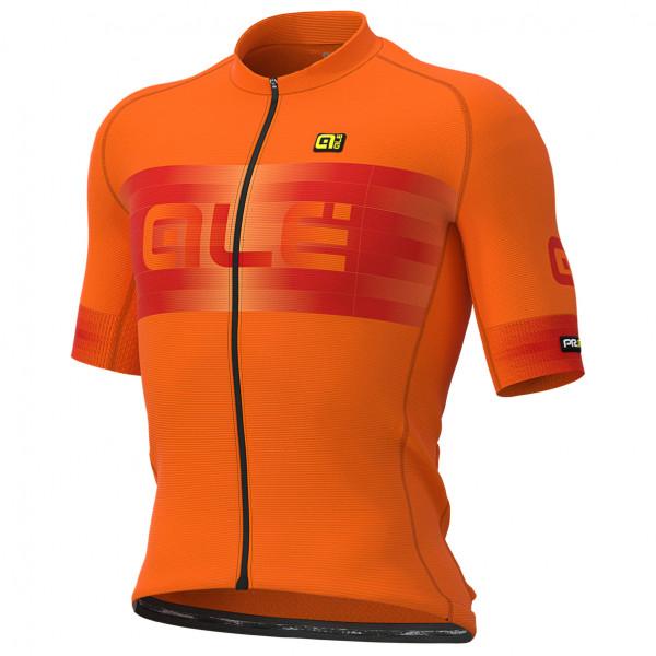 #Alé – Scalata Jersey Graphics – Radtrikot Gr S orange/rot#