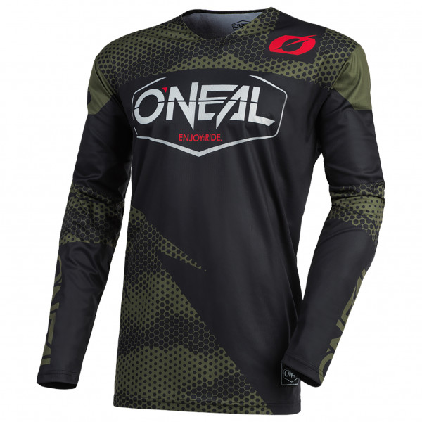 Oneal - Mayhem Jersey Covert - Cycling Jersey Size L  Black