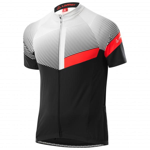 Lffler - Bike Jersey Full-zip Stream Mid - Cycling Jersey Size 48  Black/grey