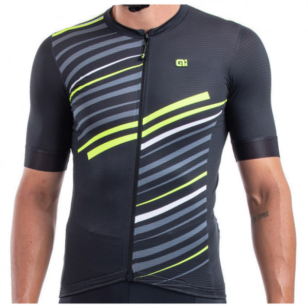 Al - Flash Jersey - Cycling Jersey Size L  Black