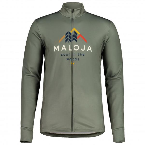 Maloja - Schwarzerlem. 1/1 - Cycling Jacket Size S  Grey/olive