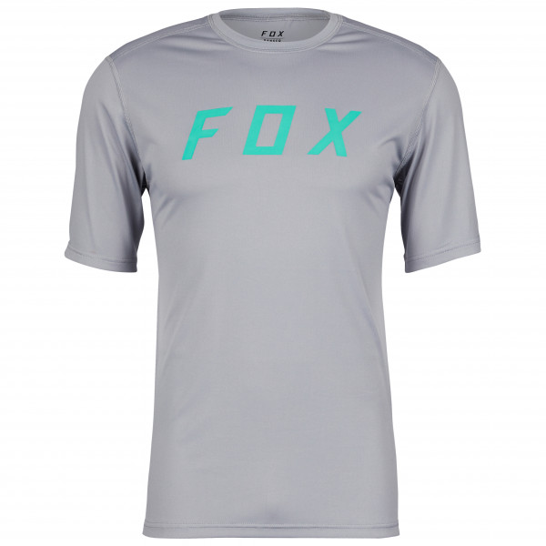 Fox Racing - Ranger S/s Jersey Fox - Cycling Jersey Size Xxl  Grey/turquoise