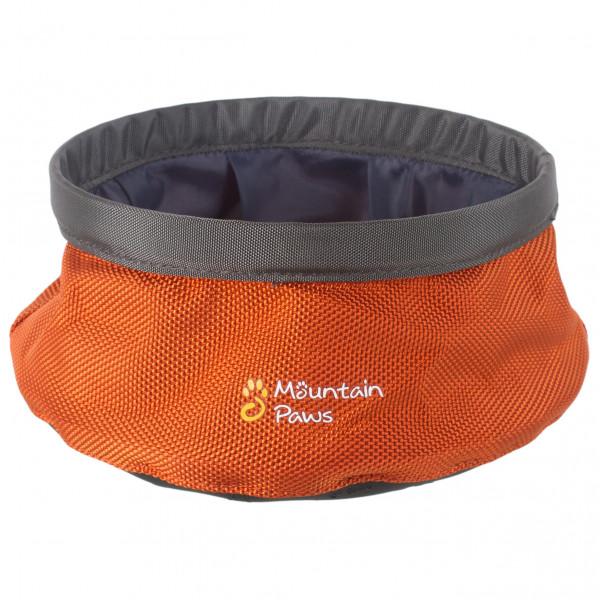 Mountain Paws - Dog Water Bowl - Hundezubehör Gr S orange 81209