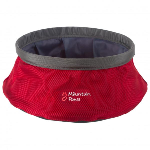 Mountain Paws - Dog Water Bowl - Hundezubehör Gr M rot 81234