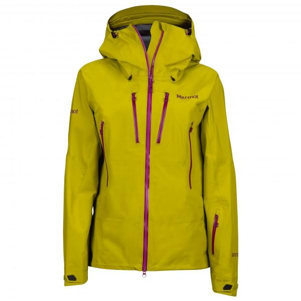 Marmot - Women´s Alpinist Jacket Hardshelljacke Gr M gelb/orange