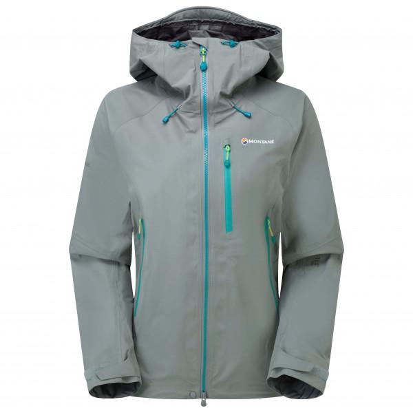 Pro Taille Montane Alpine Jacket Hardshell Veste Women`s Bleu 34 6zOSOrYEn