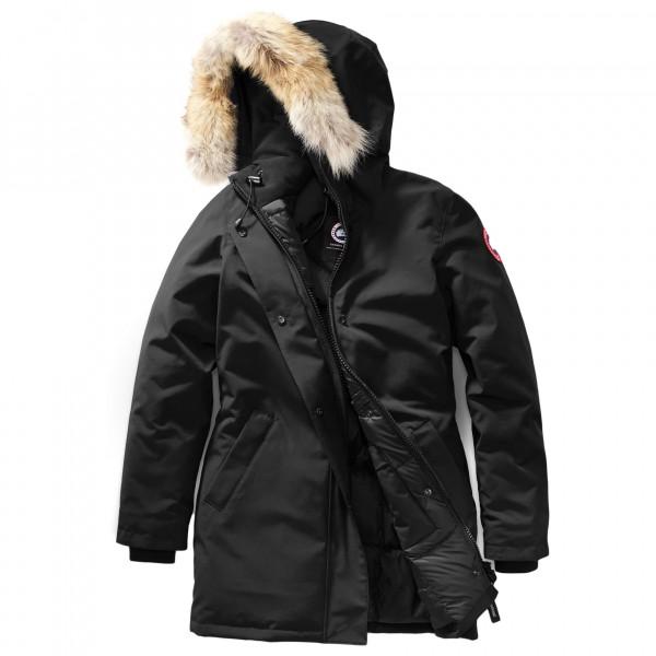 Canada Goose - Ladies Victoria Parka - Mantel Gr L schwarz Preisvergleich