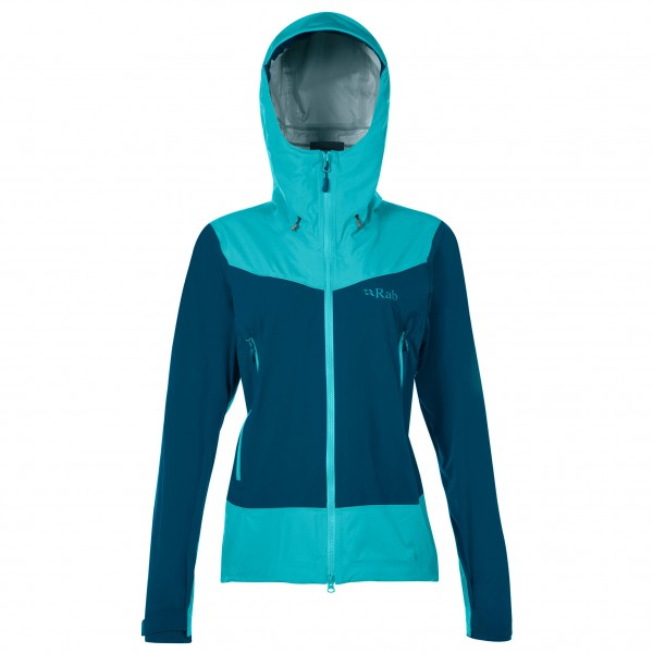Rab - Women's Mantra Jacket - Hardshelljacke Gr 12 blau/türkis