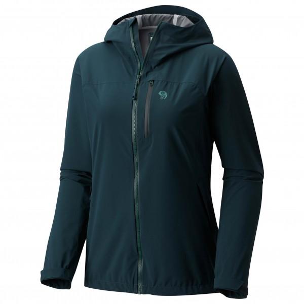 Mountain Hardwear - Women's Strech Ozonic Jacket Gr L schwarz