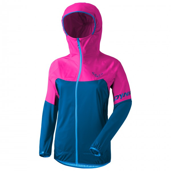 Dynafit - Women's Transalper Light 3L Jacket - Regenjacke Gr 34 - IT: 40;36 - IT: 42;38 - IT: 44;40 - IT: 46 blau/rosa;blau/türkis 70981