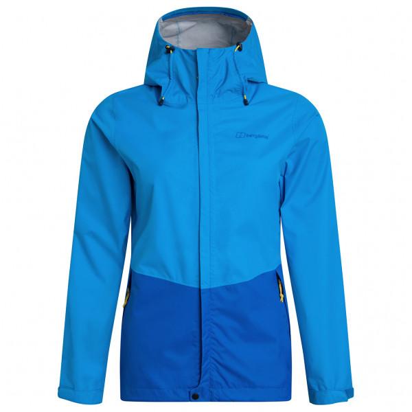 Berghaus - Womens Deluge Vented Shell Jacket - Waterproof Jacket Size 14  Blue