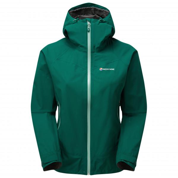 Montane - Women's Pac Plus Jacket - Regenjacke Gr 34;36;38;40 oliv/türkis;blau FPPLJ