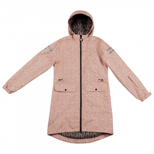 Ducksday - Women's Rainjacket - Regenjacke Gr L beige RAINJAJUNEL