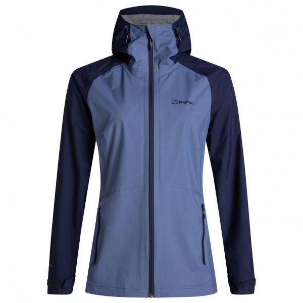 Berghaus - Womens Deluge Pro Shell Jacket - Waterproof Jacket Size 18  Blue/black