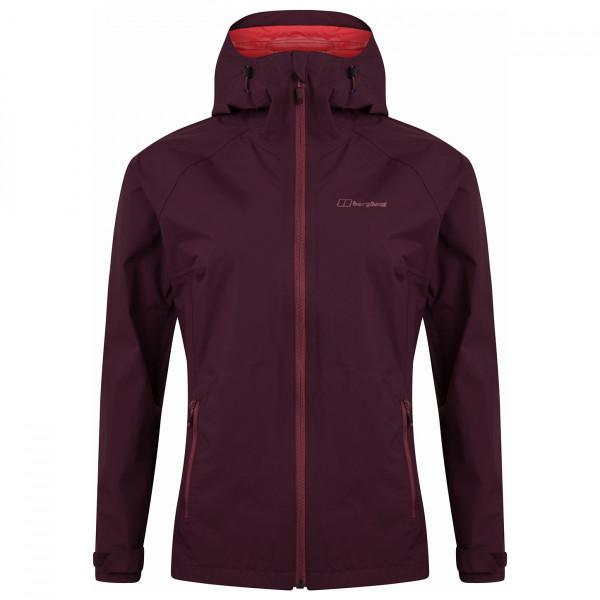 Berghaus - Womens Deluge Pro Shell Jacket - Waterproof Jacket Size 16  Purple