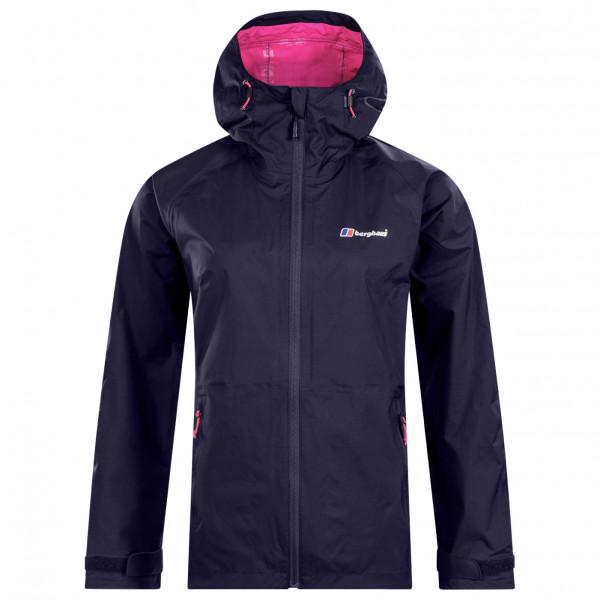 Berghaus - Womens Deluge Pro Shell Jacket - Waterproof Jacket Size 8  Black