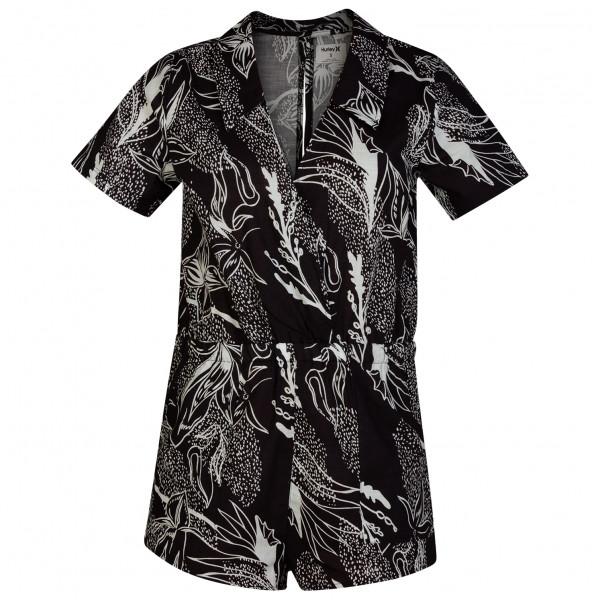 Hurley - Women's Domino Romper - Jumpsuit Gr L;M;S;XS schwarz/grau CD9255