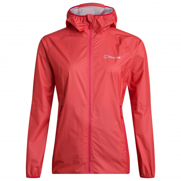 Berghaus - Womens Hyper 140 Shell Jacket - Waterproof Jacket Size 16  Red