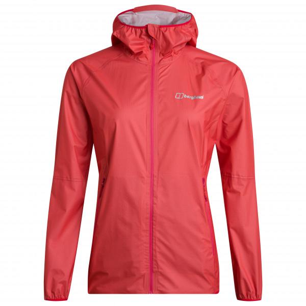 Berghaus - Women's Hyper 140 Shell Jacket - Regenjacke Gr 10;12;14;16;8 rot;grau/blau 4-A000858