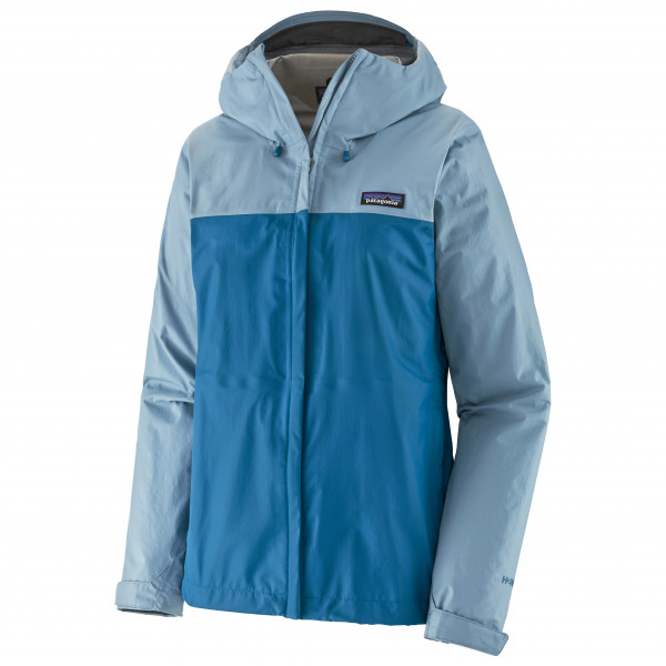 Patagonia - Womens Torrentshell 3l Jacket - Waterproof Jacket Size L  Blue/grey