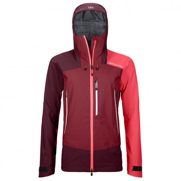 Ortovox - Women's Westalpen 3L Jacket - Regenjacke Gr L;M;S;XL;XS rot/lila;blau/rot 70214