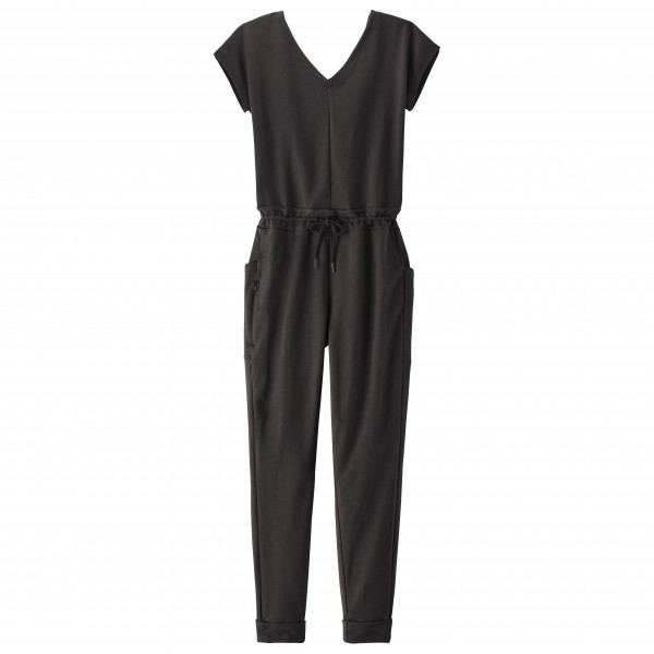 Patagonia - Womens Organic Cotton Roaming Jumpsuit - Jumpsuit Size Xs  Black