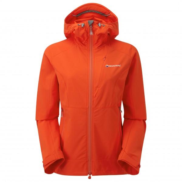 Montane - Women's Dyno Stretch Jacket - Softshelljacke Gr 38 rot