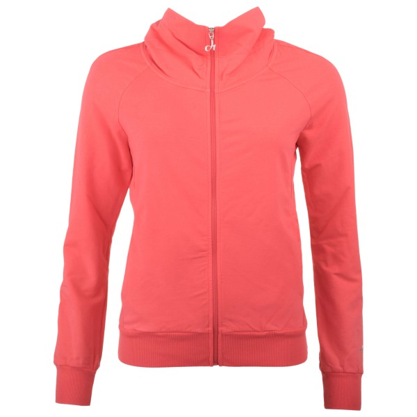 Deha - Women´s Active High Neck Full Zip Sweatshirt Gr XL rot