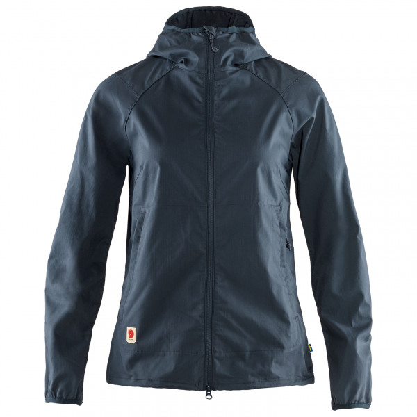 Fjllrven - Womens High Coast Shade Jacket - Casual Jacket Size Xxs  Black/blue