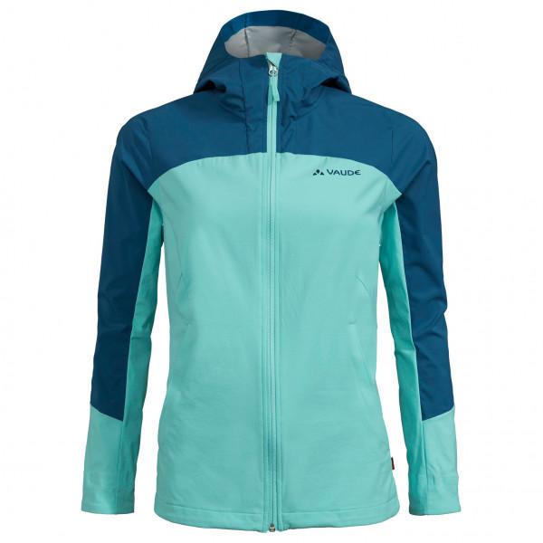 Vaude - Womens Skarvan Softshell Jacket Ii - Softshell Jacket Size 42  Turquoise/blue