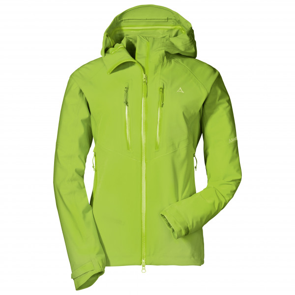 #Schöffel – Women's 3L Jacket Charleroi L – Hardshelljacke Gr 40 grün#