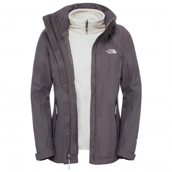 Women´s Evolution II Triclimate Jacket Gr L grau/schwarz