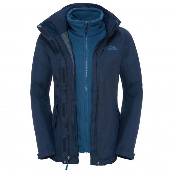 Women´s Evolution II Triclimate Jacket Gr S blau/schwarz