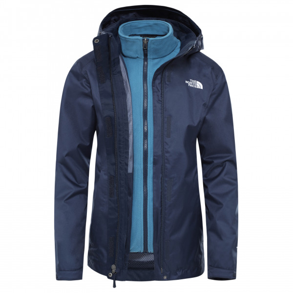 The North Face - Women's Evolve II Triclimate Jacket, blauw/zwart