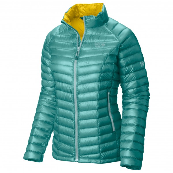 Mountain Hardwear - Women's Ghost Whisperer Down Jacket Gr XS türkis/oliv