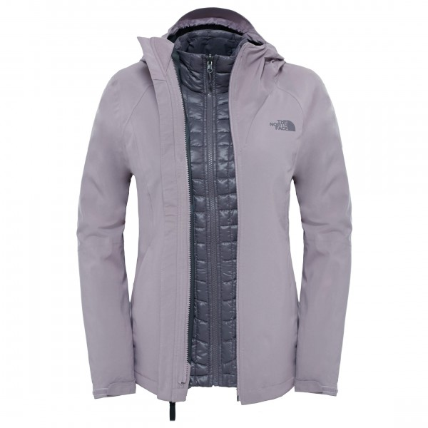 Women´s Thermoball Triclimate Jacket Gr S grau
