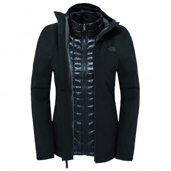 Women´s Thermoball Triclimate Jacket Gr L schwarz