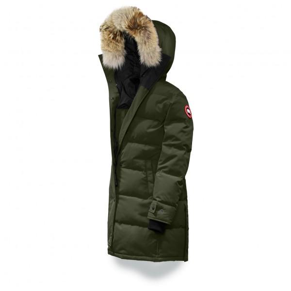 Canada Goose - Women´s Shelburne Parka - Winterjacke Gr XS schwarz/oliv Preisvergleich
