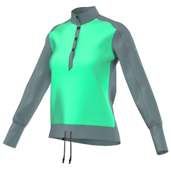 adidas Women´s Lizz Shirt Synthetische trui maat 34 green