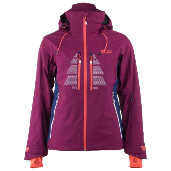 Picture - Women´s Great Skijacke Gr XS lila/rosa