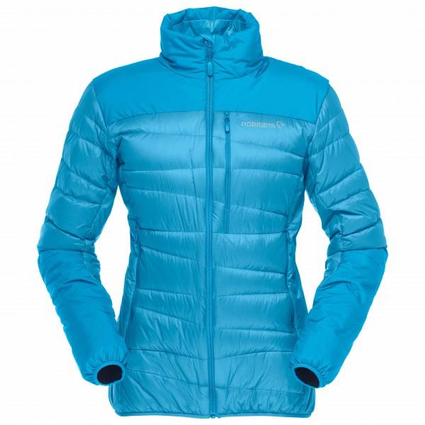 Norrøna - Women's Falketind Down750 Jacket - Daunenjacke Gr M blau/türkis