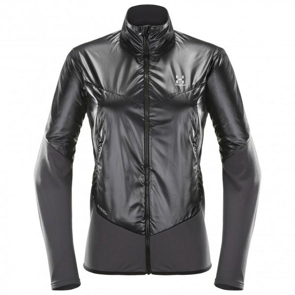 Haglöfs - Women´s Touring Hybrid Jacket Kunstfaserjacke Gr S schwarz/grau