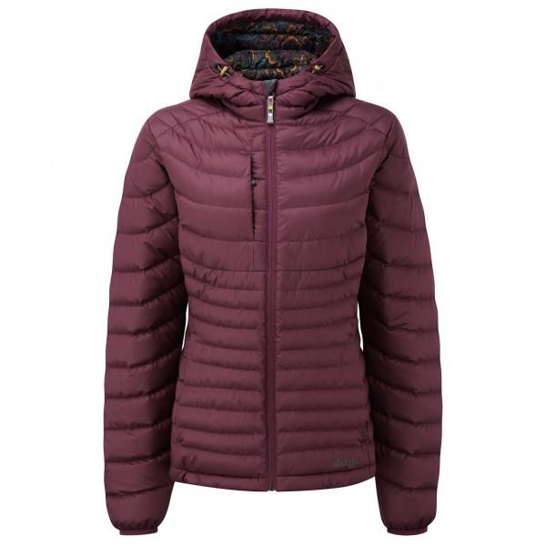 Sherpa - Women´s Nangpala Hooded Jacket Daunenjacke Gr L;M;S;XL lila;blau/türkis;schwarz