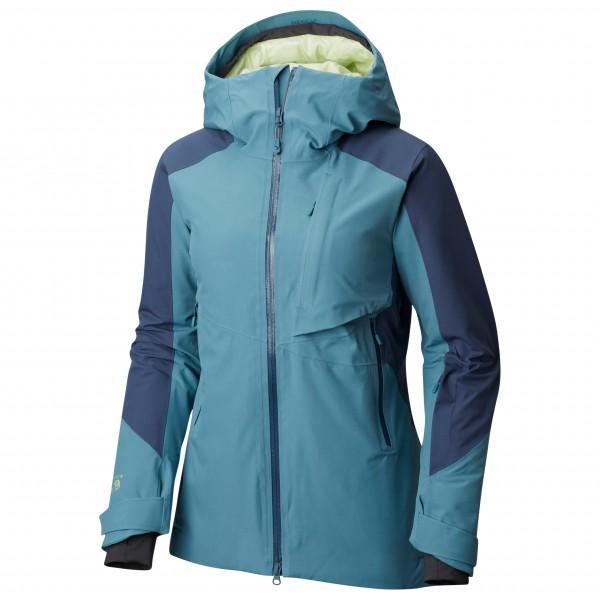 Mountain Hardwear - Women's Polara Insulated Jacket Gr L blau/türkis