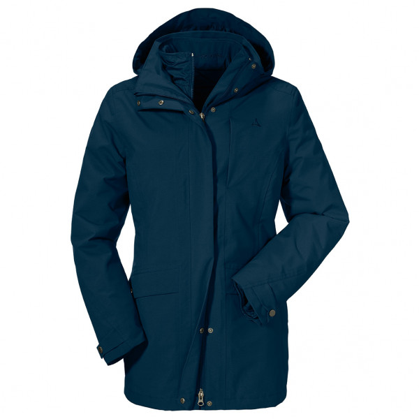 Schffel - Womens 3in1 Jacket Venetien 2 - 3-in-1 Jacket Size 46  Blue
