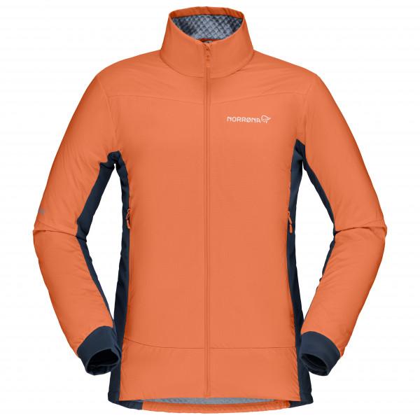 #Norrøna – Women's Falketind Octa Jacket – Kunstfaserjacke Gr L orange#